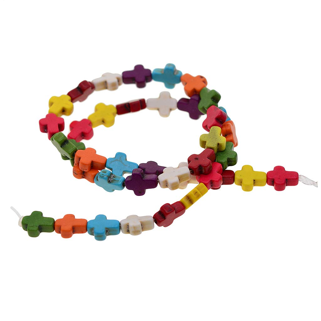 Turtle//Cross Carved Beads Natural Stone Gemstone Spacer Loose Beads Charm Jewelry Making Accessories DIY Beading Supplies Craft Materials Homyl Wholesale Tube//Nuggets Cross Beads