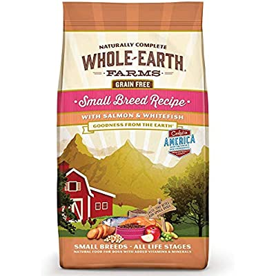 Whole Earth Farms Grain Free Small Breed Dry Dog Food, 12 Pounds