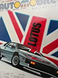 1986 Lotus Esprit Turbo / Chevy Chevrolet Camaro IROC Magazine Article