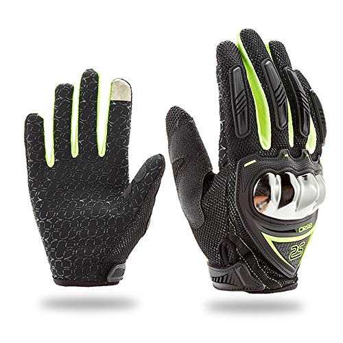 Thick Anti-slip Touch Screen Motorcycle Gloves Knight Refers To Prevent Slippery Drop All Cross-country Half Refers To The Four Seasons General Locomotive Cycling Equipment Ideal For Dress Driving - Locomotives General Motors