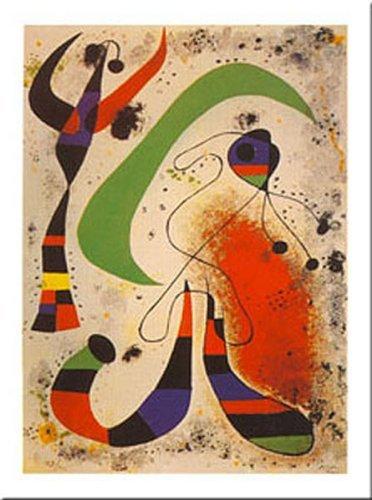 Buyartforless La Nuit by Joan Miro 20x16 Art Print Poster