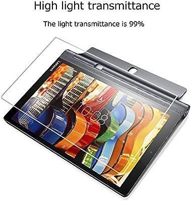 Lenovo Yoga Tab 3 Pro X90F Cristal Templado,Vikoo 9H 0.3mm Ultra Delgado Shatterproof pantalla de Vidrio Templado HD Flim para Lenovo Yoga Tab 3 Pro ...