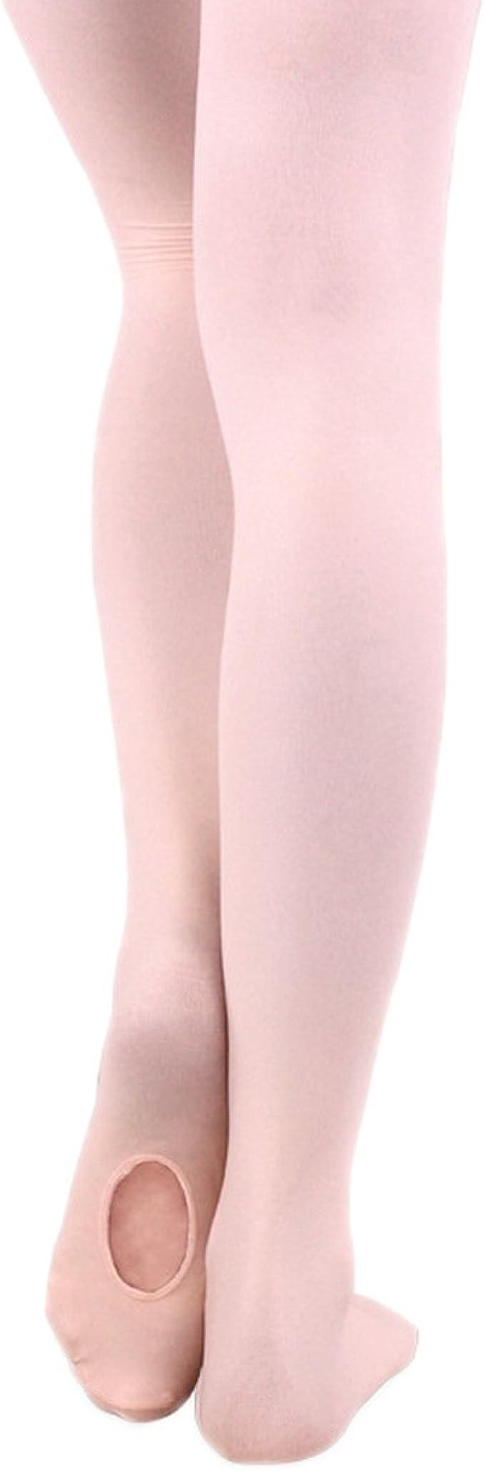pink Kinder Strumpfhose Ballerina Ballet Strumpfhose Mädchen Feinstrumpfhose