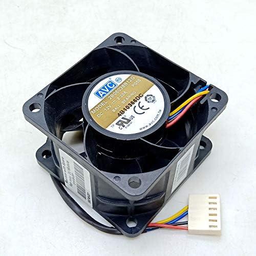60mm pwm fan AVC 6038 12V Double Ball High Speed Fan 2B06038B12G 6cm Computer Server Power Fan