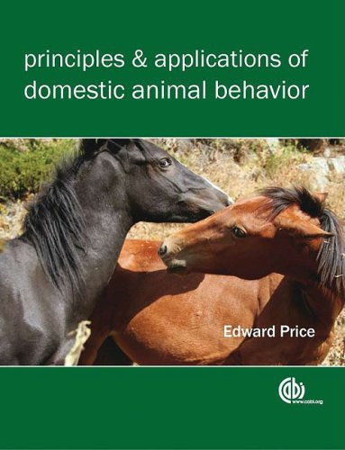 Principles and Applications of Domestic Animal Behavior (Cabi)