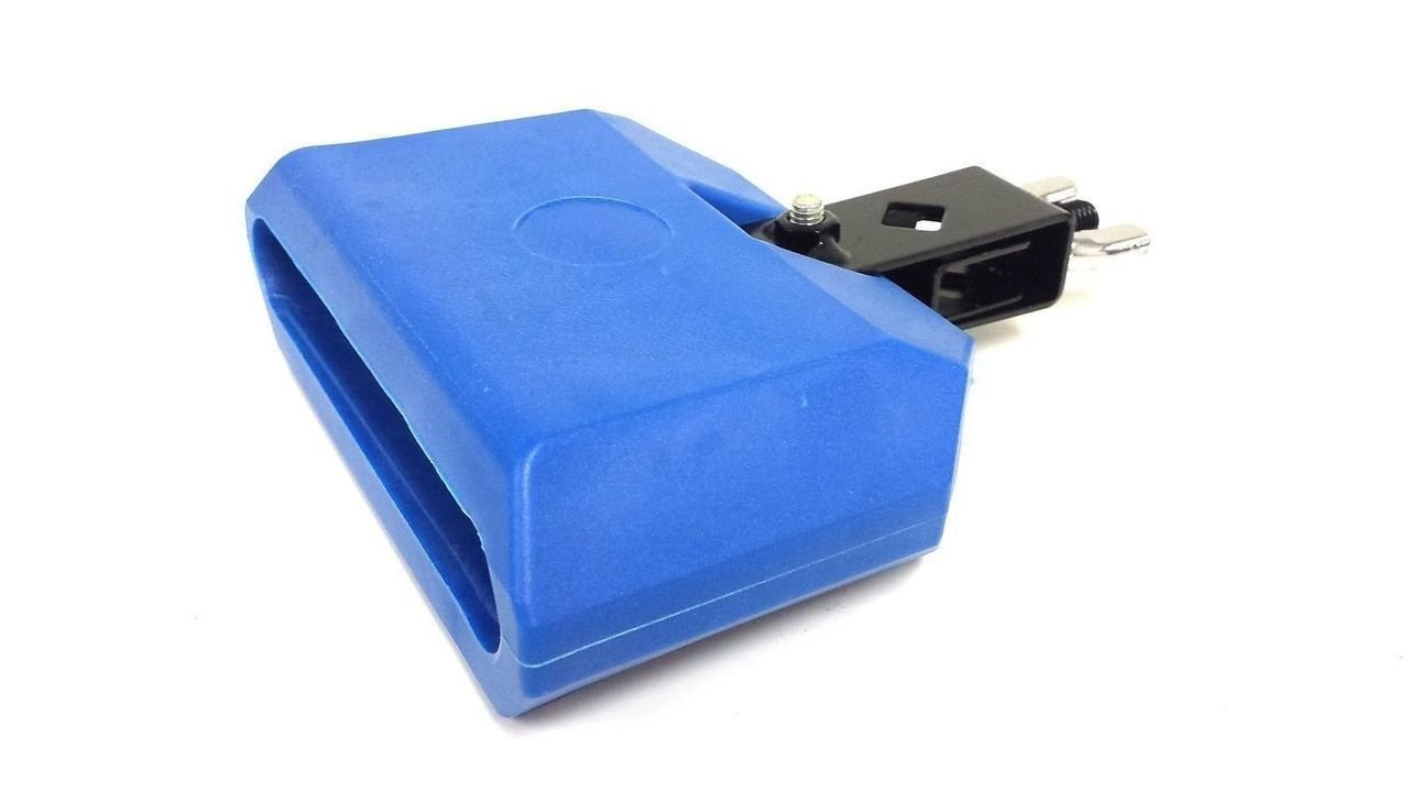 Cow Bell 5'' Blue Plastic Latin Percussion Drum Percussion Musical Accessory