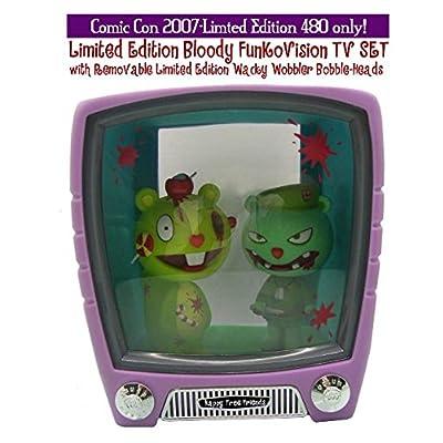 HAPPY TREE FRIENDS TV set PVC avec 2 bobble-heads - serie exclusive 480 SDCC 2007