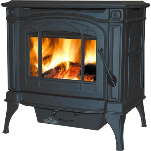 - Napoleon 1100c Wood Burning Stove - Black