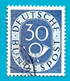 Used German Postage Stamp %281951%29 30