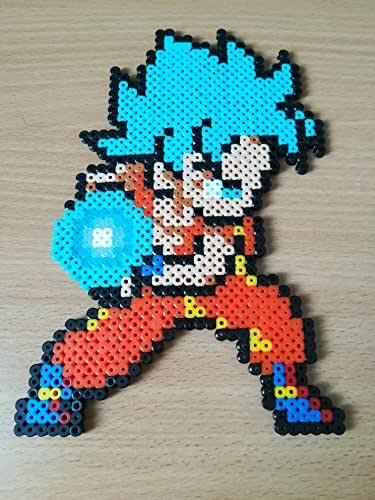 Pixel Art / Perler Beads Dragon Ball Goku SSGSS: Amazon.es