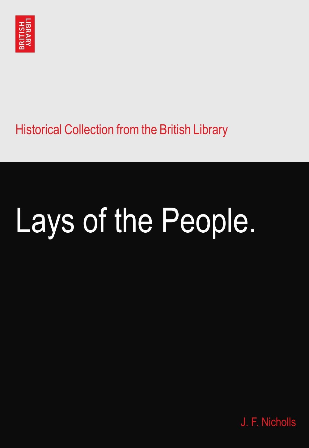 Lays of the People. ebook