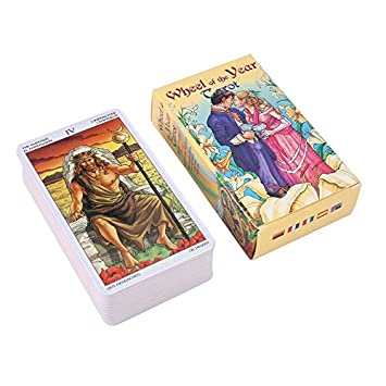 loonBonnie Wheel of The Year Tarot Read Fate Tarot Juego de ...