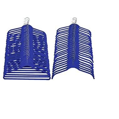 Joy Mangano Huggable Hangers 48-Pc. Combo Pack - Blue