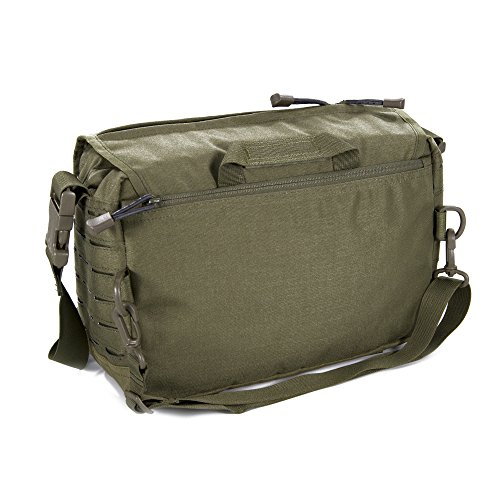 Direct Action Small Messenger Tactical Bag 6.6 Liter Capacity, Ideal for Laptop, ipad or Tablet