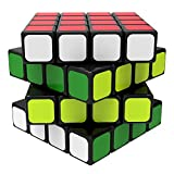 Newisland Speed Cube 4X4X4 Sticker Puzzle Cube, with Solution Guide & Carrying Bag, Durable Structure and Vivid Color