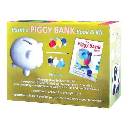 Paint a Piggy Bank Book & Kit