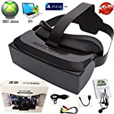 Shengsite VR Gaming 3D Glasses 8GB Rom Game Movie All in One Portable VR Virtual Reality Headset 3D Video Movie Game Glasses Support 32GB TF Card 1080P for PC PS4 360 XBOX