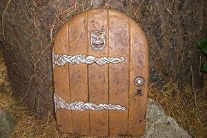 Large garden fairy hobbit door ideal for gardens and for Amazon uk fairy doors