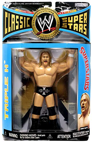 WWE Classic Superstars Series 17 LJN Style Triple H Action Figure toy [ parallel import goods ]