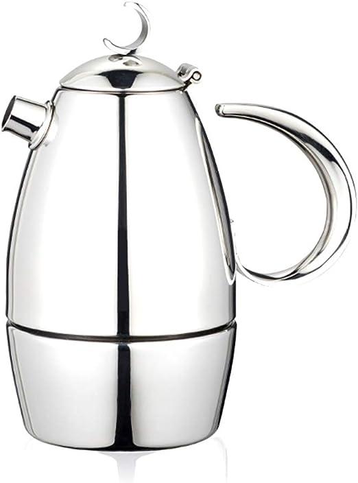 ODDINER Café Moka Pot Cafetera exprés Mocha Pot hogar pote del ...