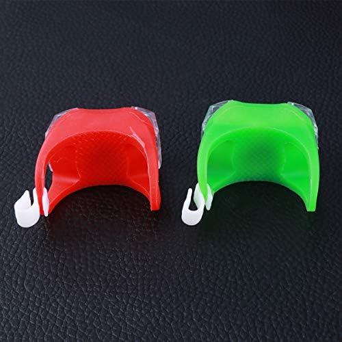 VORCOOL 2 PCS Marine LED Lumi/ères De Navigation Kayak Lumi/ères De Navigation Bateau Bow ou Stern Lumi/ères De S/écurit/é Lumi/ères De Secours Lumi/ères De Secours Rouge + Vert