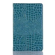 Samsung Galaxy Tab A 10.5 Tablet Case, Miya Slim Smart Case with Auto Wake/Sleep Tri-Fold Stand Cover PC Back Shell for Samsung Galaxy Tab A 10.5 2018 Release SM-T590 (Wi-Fi)& SM-T595 (LTE) - Blue
