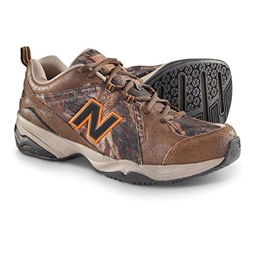 (New Balance Men's MX608v4 Training Shoe,  Universal Camo Print, 11.5 XW US)