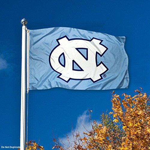 UNC North Carolina Tar Heels University Large College Flag