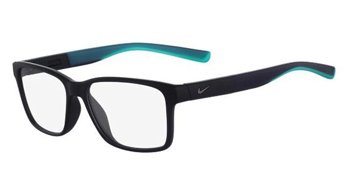 Nike 7091 INT, Monturas de Gafas para Hombre, Matte Obsidian/Hyper Jade,