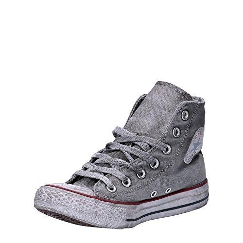 Sneakers LTD White adulto Converse Canvas Smoke Taylor In Grey Grigio Unisex Alte Tela All High Chuck Op Star fR86rfwq