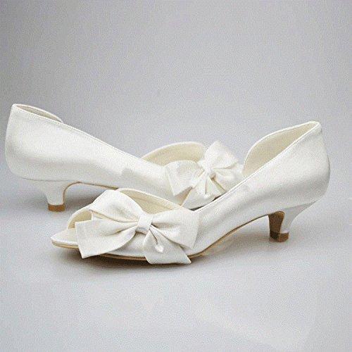 Minitoo - Zapatos de vestir para mujer Ivory-4.5cm Heel