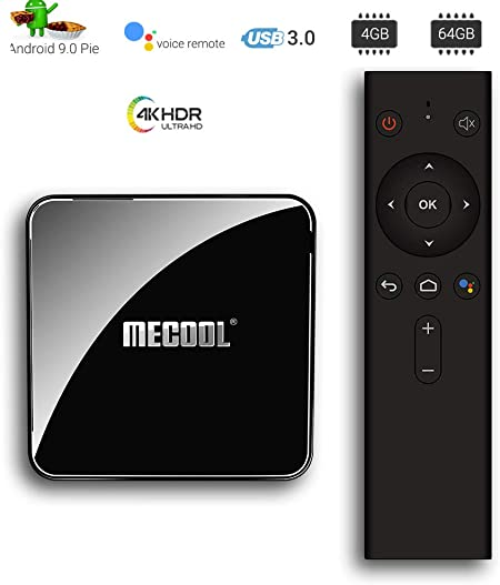 Android 9.0 TV Box 4 GB 64 GB Amlogic S905X2 4K 2.4G Dual WiFi 5G