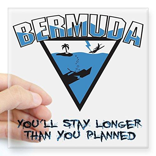 CafePress Bermuda Triangle Square Sticker 3