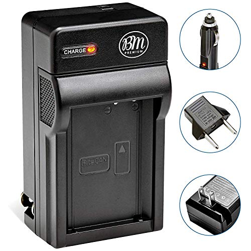 BM Premium LP-E12 Battery Charger for Canon SX70 HS, Rebel SL1, EOS-M, EOS M2, EOS M10, EOS M50, EOS M100 Mirrorless Digital Camera ()