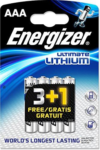 Energizer Pila de litio L92 AAA 2