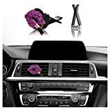 Car Bling Interior Accessories, Mini-Factory Car Air Vent Rhinestone Diamond Decoration - Lipstick (Length:2