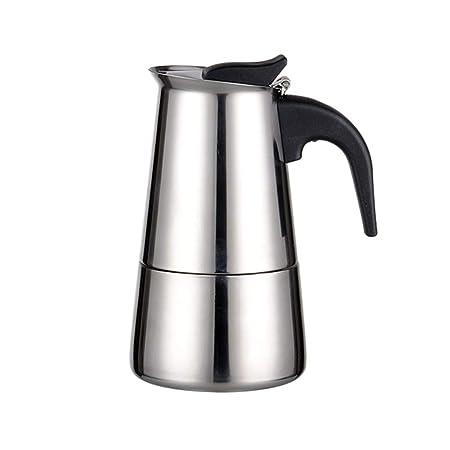 LLCOFFGA Cafetera, Cafetera para Hacer Espresso En El Hogar con ...