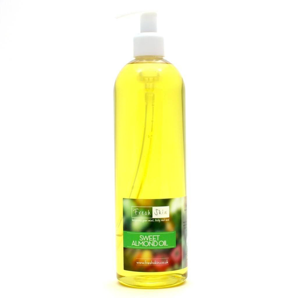 250ml Sweet Almond Oil - 100% Pure Freshskin