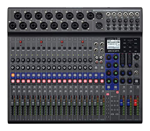 LiveTrak L-20 - 20-Input Digital Mixer & Multitrack Recorder