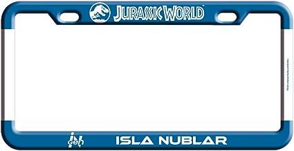 Factory Entertainment Jurassic World Isla Nublar License Plate Frame Inc 408846