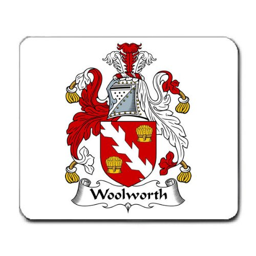 woolworth-family-crest-coat-of-arms-mouse-pad