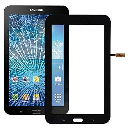 TOUCHPANELS für Samsung New Touch Panel Digitizer für Galaxy Tab 3 Lite 7.0 / T110, (Nur WiFi-Version) (Schwarz) Touch Panel-