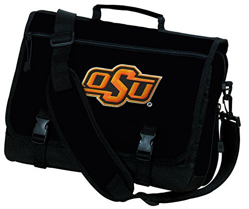 Broad Bay Oklahoma State Laptop Bag OSU Cowboys Computer Bag or Messenger Bag by Broad Bay