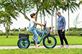 3Score Electric Fat Trike 750W Motor and 48V 17.4
