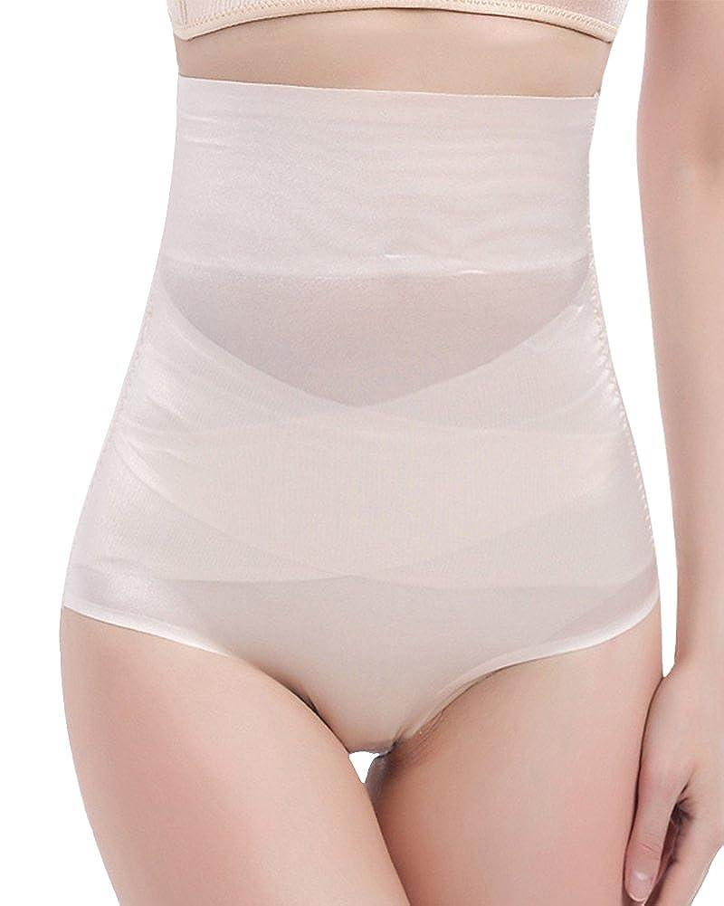 Damen Shapewear Hohe Taille Miederslip Bauch Weg Atmungsaktiv Miederpants Miederhose
