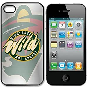 diy zhengNHL Minnesota Wild iphone 5cand Case Cover