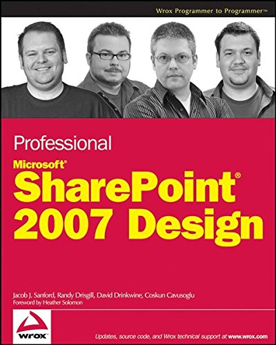 (Professional SharePoint 2007 Design)