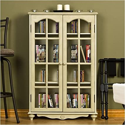 Coventry Media Cabinet   Antique White