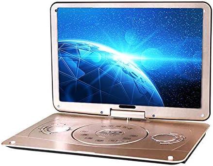 Ashey Reproductor HD DVD EVD Portátil Televisor con 18 Pulgadas LCD Digital Multimedia Card SD U Disco FM del Juego De La TV VCD MPEG RMVB Reproductor De Vídeo: Amazon.es: Hogar
