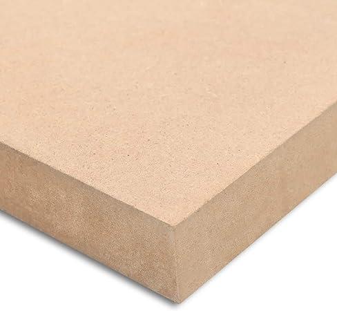 vidaXL MDF Platte 120x60 cm 25 mm Mitteldichte Faserplatte Holzzuschnitt